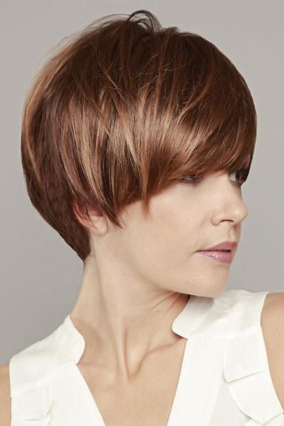 Photo perruque femme Audrey cheveux courts