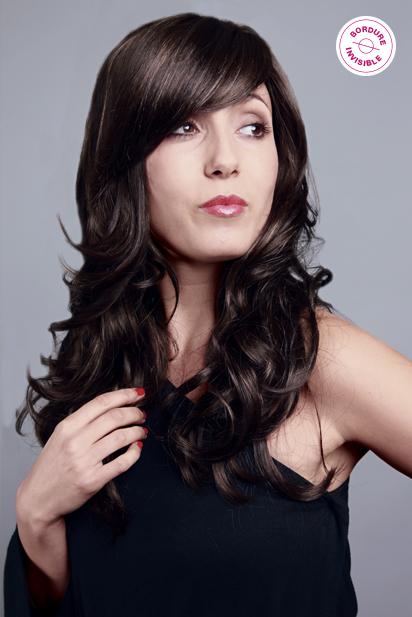 Photo perruque femme Ava cheveux longs