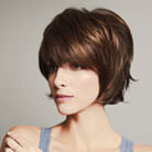 Photo perruque femme Ava cheveux courts