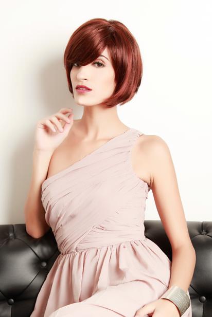 Photo perruque femme Kelly cheveux mi-longs