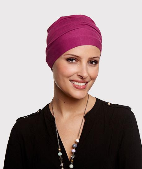 photo mannequin avec turban rose